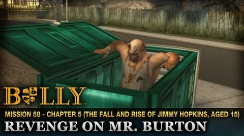 Revenge on Mr. Burton