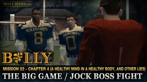 The Big Game Jock Boss Fight - Mission 52 - Bully Scholarship Edition