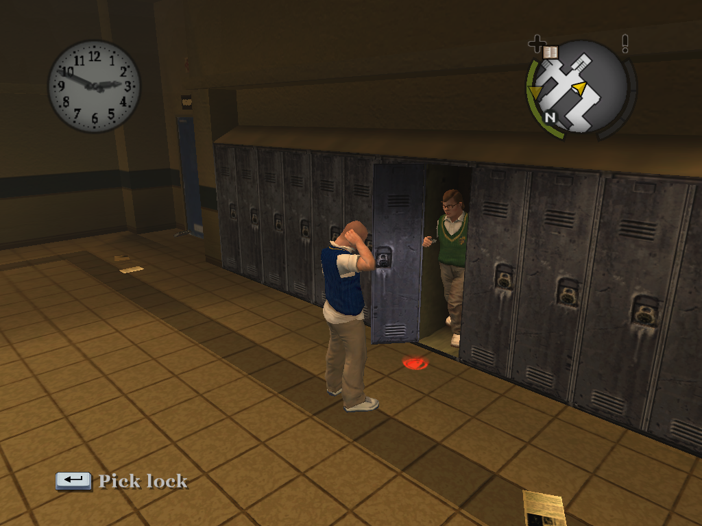 List of glitches in Bully/Glitches H-N