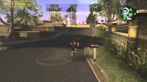 Bullworth Vale - Bike Race 4 - Bully