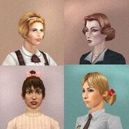 SWEGTA beta female characters