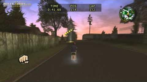 Bullworth Vale - Bike Race 6 - Bully