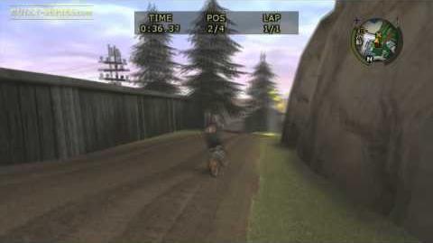Bullworth Vale - Bike Race 3 - Bully