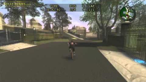 Bullworth Vale - Bike Race 1 - Bully