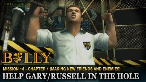 Help Gary Russell in the Hole - Mission 14 - Bully Scholarship Edition