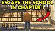 Bully - How to Get Out of School at the Start of the Game