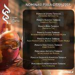 Nominasi Festival Film Indonesia (FFI) 2019