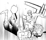 Fitzgerald kicks down Atsushi (manga)