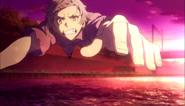 Atsushi jumps off to save a drowning man