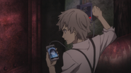 Atsushi communicating with Katai