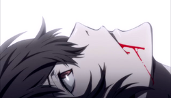 Ending 1 - Dazai with blood on his mouth