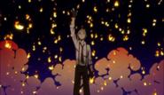 Ending 2 - Atsushi reaching for the flames