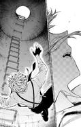 Atsushi falls to the sewer (manga)