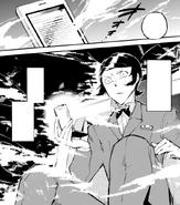 Mushitaro transported to Poe's novel (manga)