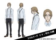 T. J. Eckleburg Anime Character Design