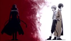 Ending 1 - Akutagawa far from Atsushi and Dazai