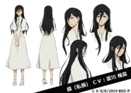 Gin Akutagawa (Civilian) Anime Character Design