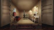 Atsushi in Goncharov's hideout