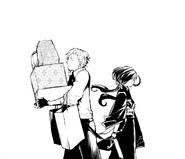 Atsushi encounters Kyōka (manga)