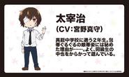 Osamu Dazai 2 (Wan! Anime Character Design)