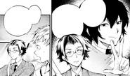 Ango as Dazai's middle-man (manga)