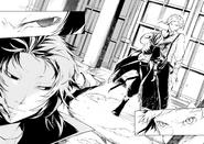 Atsushi saves Kyoka from Akutagawa (manga)
