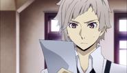 Atsushi was given the picture of Akutagawa
