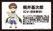Motojiro Kajii (Wan! Anime Character Design)