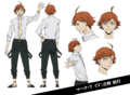 Mark Twain Anime Character Design