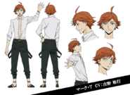 Mark Twain Anime Character Design