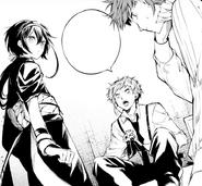 Kyoka, Atsushi, and Lucy at Sky Casino (manga)