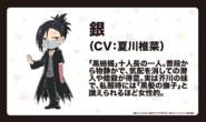 Gin Akutagawa (Wan! Anime Character Design)