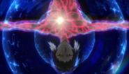 Ending 2 - Akutagawa's body showing red markings
