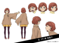 Aya Koda Anime Character Design