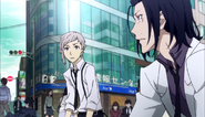 Atsushi and the man goes back to reality