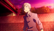 Atsushi in ragged clothes