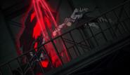 Atsushi fights Akutagawa at the Moby Dick