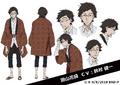 Katai Tayama Anime Character Design
