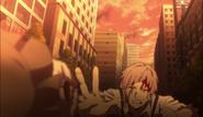 Atsushi reaches for Q's doll