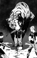 Tiger beheads the soldier (BEAST manga)