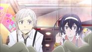 Atsushi and Kyoka playing