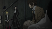 Akutagawa warns Dazai with claiming their bounty
