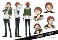 Michizo Tachihara Anime Character Design