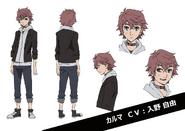 Karma Anime Character Design