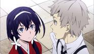 Kyoka came to get Atsushi