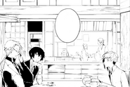Atsushi with Kunikida and Dazai (manga)