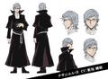 Nathaniel Hawthorne Anime Character Design