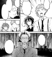 Ango explains the possible act of the third stage (manga)