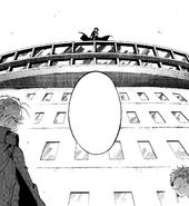 Akutagawa joins Atsushi to battle Fukuchi (manga)