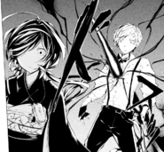 Atsushi attacked by Rashomon (manga)